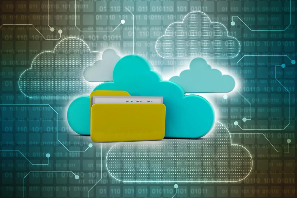 Em um software de gestão escolar, os arquivos ficam armazenados na nuvem